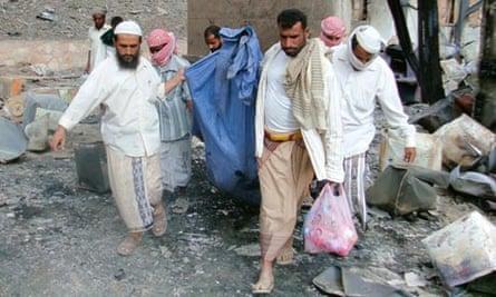 Yemen factory blast
