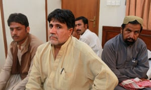 Relatives of men who have been abducted in Balochistan