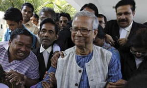 Microfinance pioneer Muhammad Yunus
