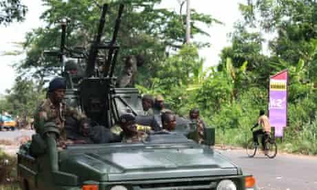 Pro-Ouattara rebels in Ivory Coast
