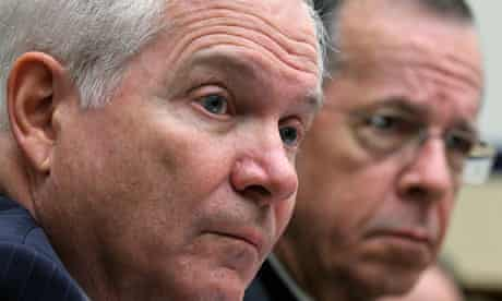 US defence secretary Robert Gates and Admiral Mike Mullen testify on Libya operations