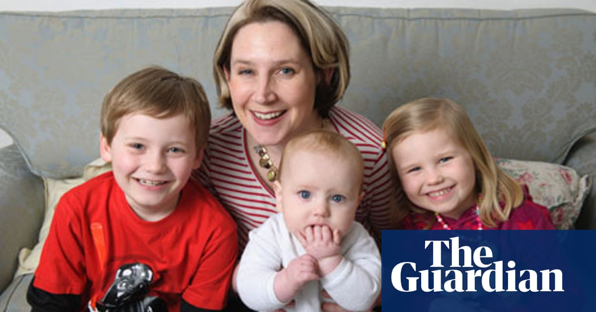 Moms Stress May Put Kids At Risk For >> Having Children Helped My Depression Life And Style The Guardian