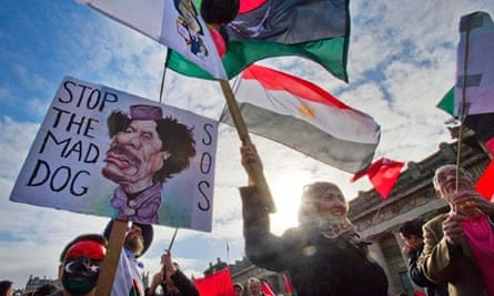 Support for Arab Revolutions Protest