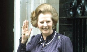 Margaret Thatcher in 1983