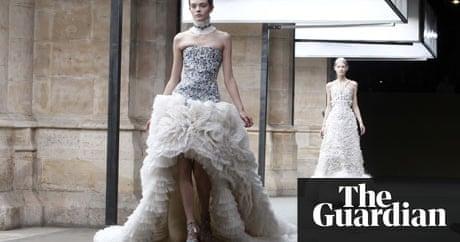 Alexander mcqueen wedding dress rumour fuelled by ice queen show alexander mcqueen wedding dress rumour fuelled by ice queen show fashion the guardian junglespirit Gallery