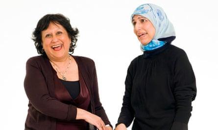 Yasmin Alibhai-Brown and Salma Yaqoob
