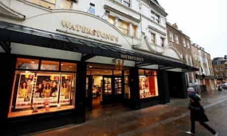 Waterstone's book shop, Islington Green