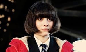 Yasmin Paige as the firebug heroine Jordana in Submarine.