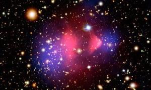 Dark matter in space
