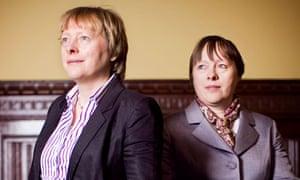 Twin Labour MPs Angela and Maria Eagle