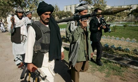 Former Taliban fighters