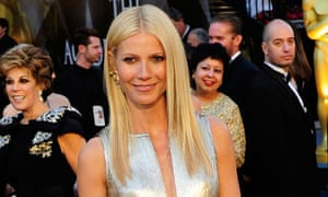 Actress Gwynneth Paltrow arrives on the