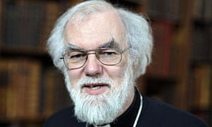 The Archbishop of Canterbury used his address to call for greater deeds from the wealthy.