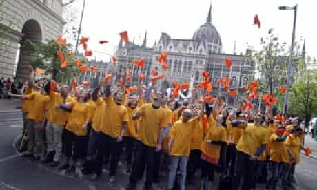 Hungary Fidesz protest