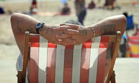 Britain Basks In Sunshine