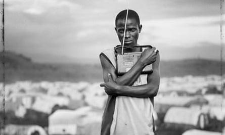 Jim Goldberg - part of a photo from Democratic Republic of Congo