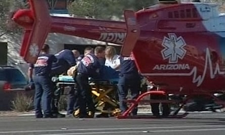 Medics at the Tucson shooting