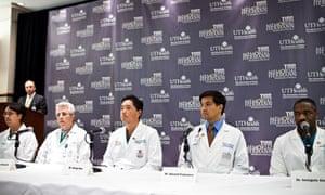 Gabrielle Giffords's medical team