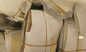 Letters awaiting delivery