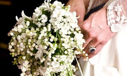 Kate Middleton bouquet flower