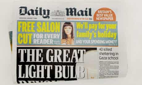daily mail front page axe pensions