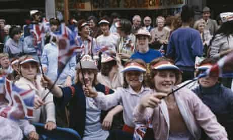 Royal Wedding revellers 1981