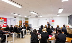 Epsom and Ewell high school is the first in the UK to install the academic-enhancing mood lighting.