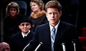Greg Kinnear as John F Kennedy in The Kennedys.