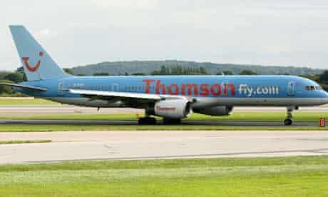 Thomson Airways plane 'security alert'