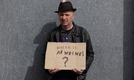 Bob and Roberta Smith carries an Ai Weiwei slogan
