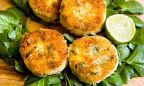 Angela Hartnett's haddock and watercress fish cakes