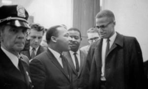 Malcolm X with Martin Luther King