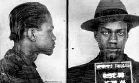 Malcolm X mugshot, 1944