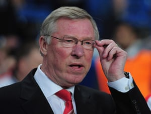 Chelsea v Man Utd: Manchester United manager Alex Ferguson