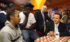 Iain Duncan Smith and David Cameron
