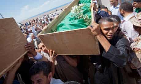 Libya clerics funneral