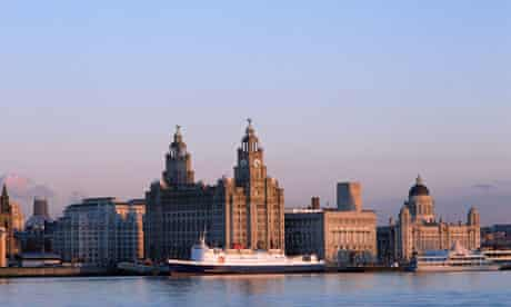 The Liverpool waterfront, a Unesco world heritage site