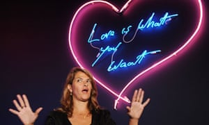 Tracey Emin attends a photocall for Love Is What You Want