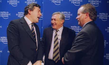 Gordon Brown Dominique Strauss-Kahn Heiner Flassbeck