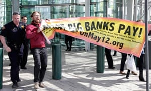 Goldman-Sachs-protestors