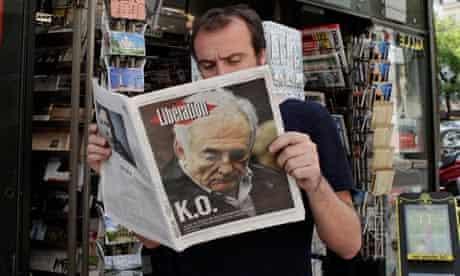 Dominique Strauss-Kahn newspaper