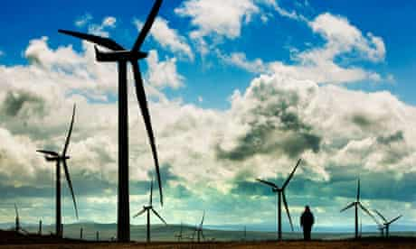 Wind turbines in East Renfrewshire