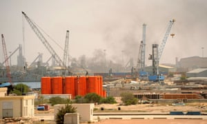 Misrata port bombarded