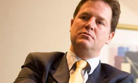 Nick Clegg AV vote
