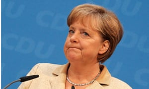 German Chancellor and leader of the Christian Democratic Union (CDU)
