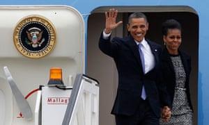 Barack Obama dn Michelle