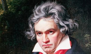 Portrait of Ludwig van Beethoven by Josef Karl Stieler