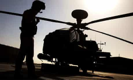 Apache helicopter deployment in Libya