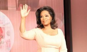 Talk show host Winfrey on her final show