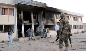 Afghanistan Takhar governor office suicide attack